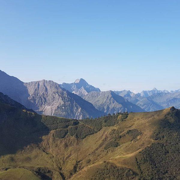 #hikng around #kanzelwand #fellhorn #kleinwalsertal Kanzelwand