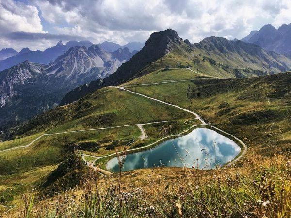 📍1.949 m #riezleralpsee #kleinwalsertal Kanzelwand