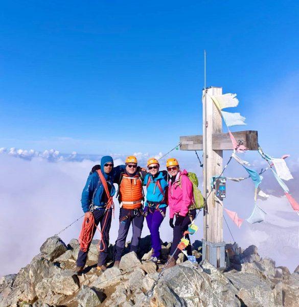 Was für ein #Erlebnis, was für eine #tolle #Tour. Mit dem #BizBuin (3312 Meter) endlich das #Dach...