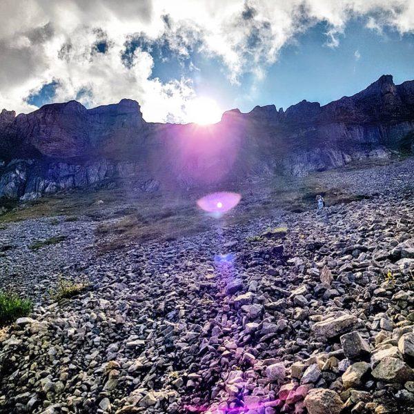Von der Auenhütte zur Ifenhütte und dann weiter entlang der Ifenmauer über die ...