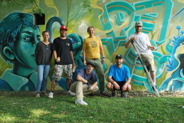InNature Graffiti Jam Die Offene Jugendarbeit Dornbirn veranstaltete mit Künstlern der Graffitiszene ein ...