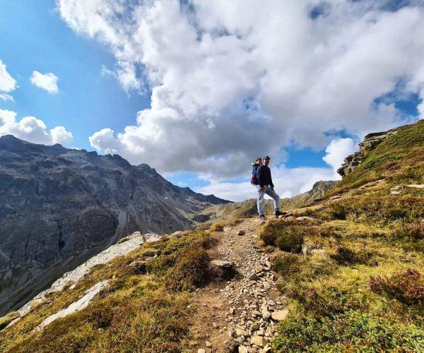 Pittig stukje omhoog vanochtend 😅 #hike #mountains #Schaftberg #Gargellen #Montafon #🇦🇹 Schaftberg