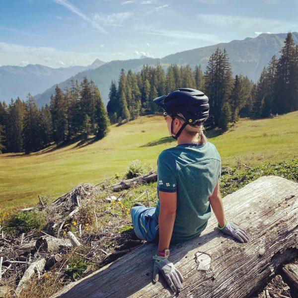 #bregenzerwald #mtbtour #hochoben #indenbergen #naturliebe #wirzwei #love Au im Bregenzerwald