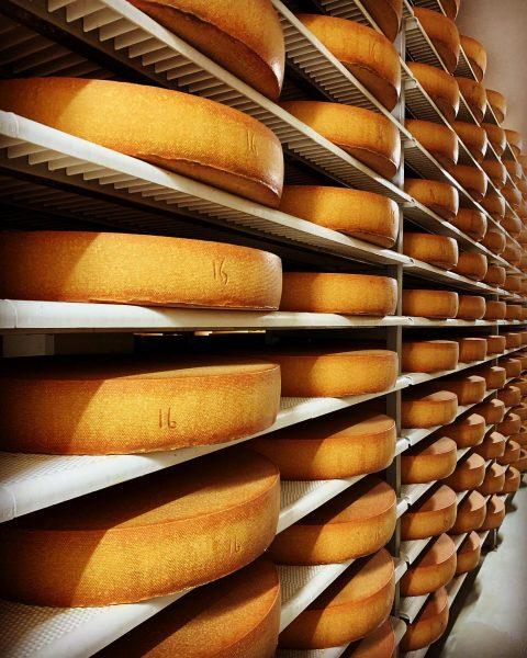 Unsere Reifekeller ➡️ hier lagert unser hochwertiger #hittisauerbergkäse 🧀🇦🇹 und gewinnt Monat für Monat zusätzlich an Geschmack....