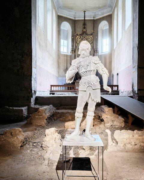 Ab heute bis 12. Dez. Eine Ausstellung der Kunsthaus Bregenz in der Johanniterkirche ...