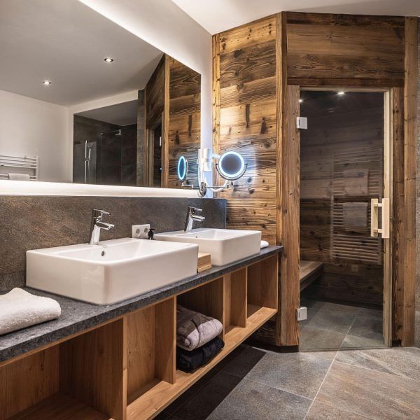 Every day begins and ends in the bathroom. It's the ideal place to relax and unwind in...