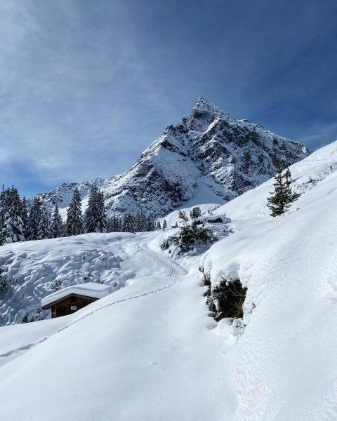 #winterwonderland #gargellen #montafon #winterliebe #berliebe #obwaldhütte #österreich #enjoyaustria Obwaldhütte