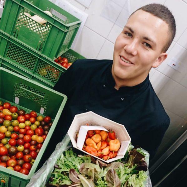 Wusstest Du, dass ein Drittel aller hergestellten Lebensmittel weltweit im Müll landen? Die ...
