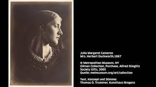 KUB Sonic Views 41: Julia Margaret Cameron, Mrs. Herbert Duckworth, 1867