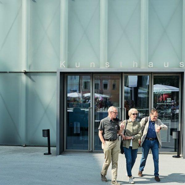 No need to turn around! Kunsthaus Bregenz ist open on #tagderdeutscheneinheit as well! ...