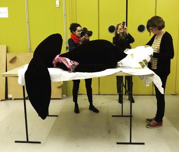 Visit to the KUB collection #kunsthausbregenz #cosimavonbonin
