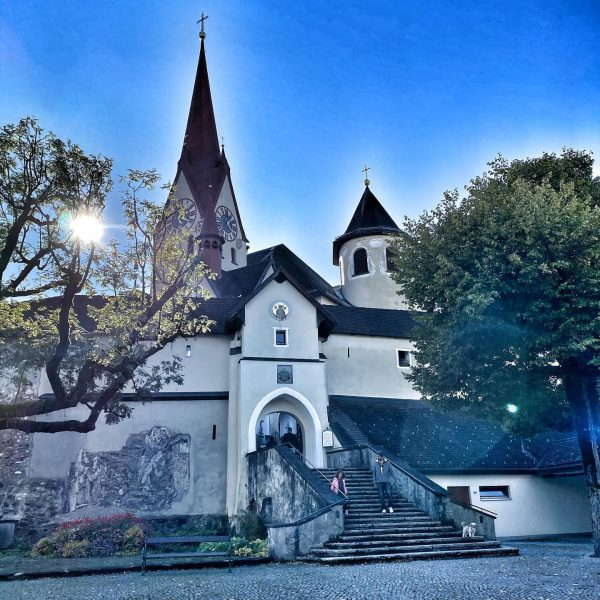 Dorfspaziergang. Basilika Rankweil