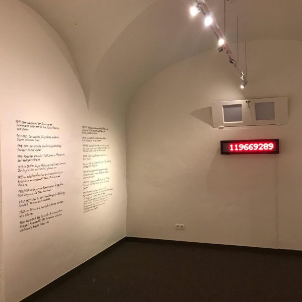 """Ausstellungseröffnung """"Die letzten Europäer. Jüdische Perspektiven auf die Krise einer Idee / Die ..."""