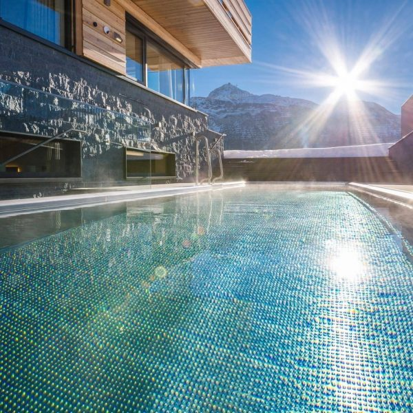 Enjoy a dip in one of Austria's highest heated outdoor pools 💦 With ...