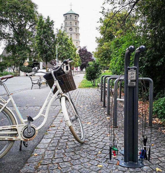 Insgesamt zehn (statt bisher drei) Fahrrad-Servicestationen gibt es inzwischen in Bregenz: Neu sind ...