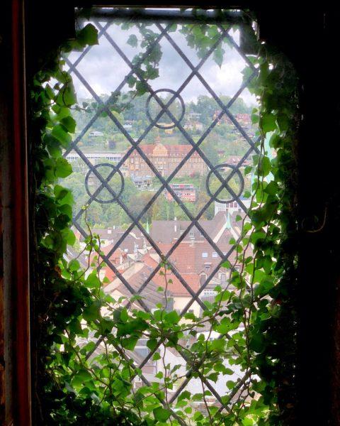 Der Blick von der Schattenburg zum Institut St.Josef am gegenüberliegenden Ardetzenberg! 🏫 _ ...