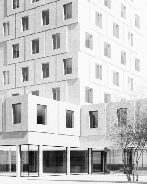 Hotel Flint @stadtdornbirn by @marte.martearchitects #concretearchitecture #vorarlberg @visitvorarlberg #austria @visitaustria Dornbrin Austria Voralberg