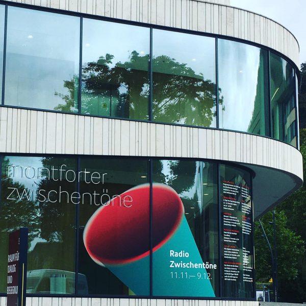 #keyvisual der kommenden #montforterzwischentöne Ein #festival als #radioformat Radio Zwischentöne #proxidesign #stefanamann #martinplatzgummer
