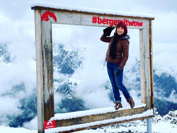 Вот и первый снег выпал в горах Австрии. Альпийские просторы Австрии мало отличаются ...