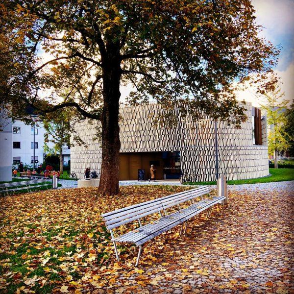 #herbst #kaltaberschön Stadtbibliothek Dornbirn