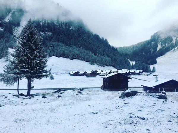 Last week this season #snowymonday #nenzingerhimmel #lastweek Nenzinger Himmel