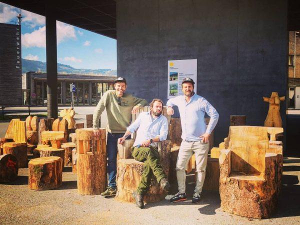 Heute haben wir uns mit Jan (Freigeist Lustenau) vom @werkraum.bregenzerwald getroffen um künftige Events wie zB Olivenölverköstigung...