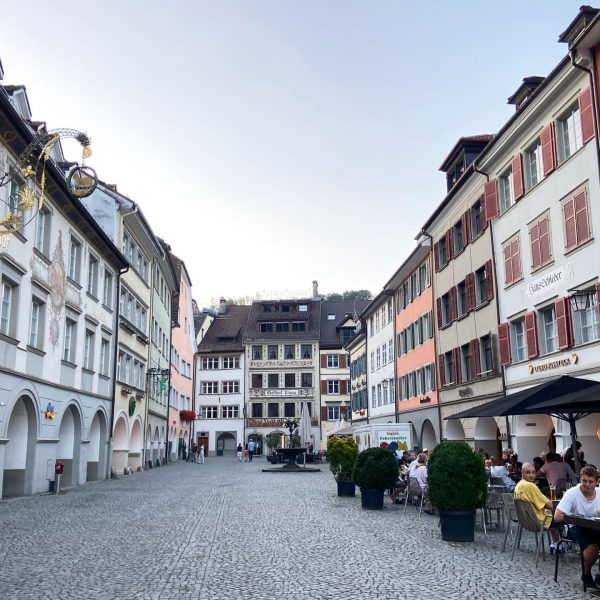 🚗Even though in Austria, there were more cars from Liechtenstein here. 🍹All the ...