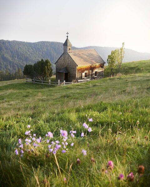 🏡🏚 . . . #vorarlberg #hirschberg #bregenzerwald #kapelle #flowers #alpen #alpenwiese #wanderlust #wanderliebe ...