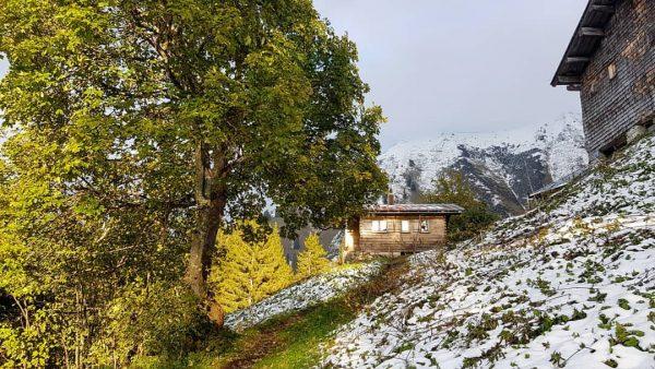 Winter is coming... 🍂❄🍂❄🍂 ❄ 🍂 ❄ 🍂 ❄ 🍂 ❄ 🍂 #kleinwalsertal #kanzelwandbahn #kanzelwand #riezlern #mountains...