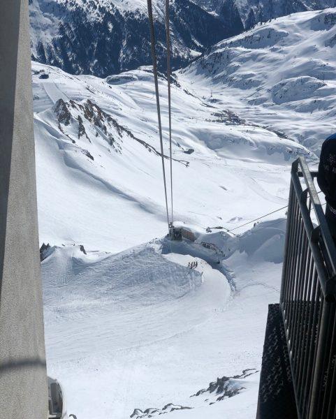 Der höchste Punkt am Arlberg - die Valluga. Wisst ihr auch wie hoch ...
