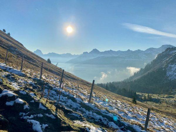 Kanisfluh morning! ❤️ #everybodylovesthekanisfluh #kanisfluh #au #schoppernau #vorarlberg #visitvorarlberg #bregenzerwald #visitbregenzerwald #alpen #alps #berge #mountains #gipfel #summit...