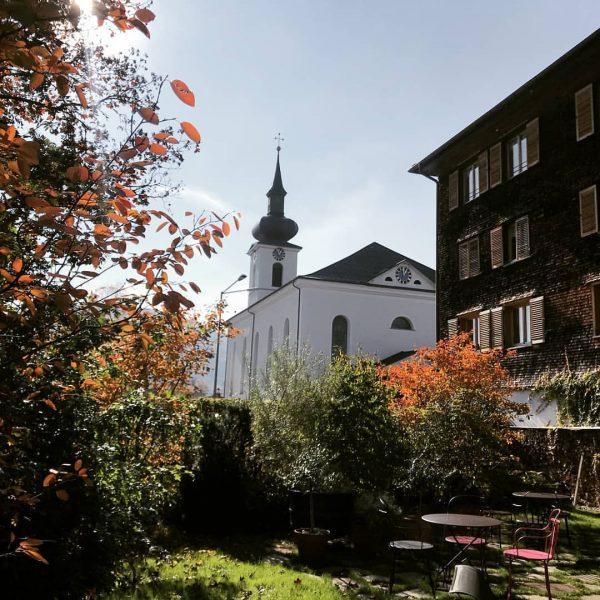 Unser Kronengarten ist im Herbst genau so schön wie im Sommer. #kronehittisau #hittisau ...