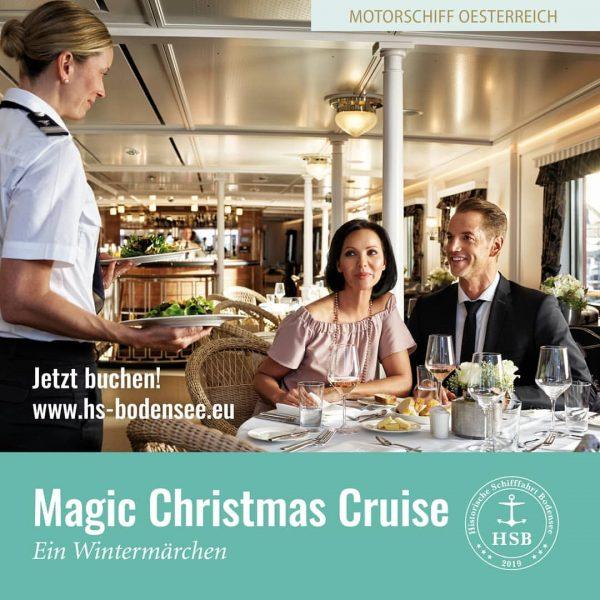 Weihnachten feiern wir in diesem Jahr im kleinen Rahmen. 🎄🎁 An Bord des Art déco-Motorschiffs Oesterreich verfügen...