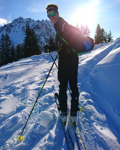 Es kribbelt schon richtig... ❄️😎🤟🏻 'Freu mich schon riesig auf die Skitourensaison! ☃️ ...