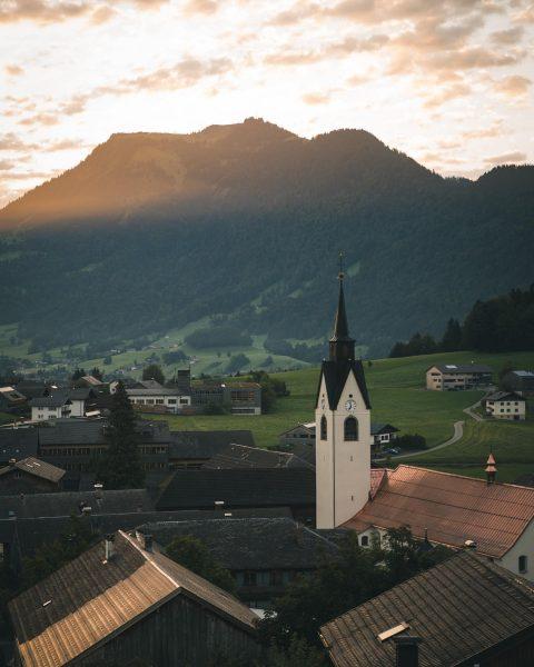 G👀d morning, Bregenzerwald ☀️ Schwarzenberg im Bregenzerwald