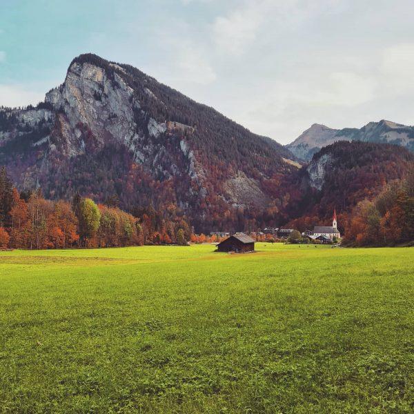 Bei uns, hinterm Haus 🥰 #adlerau #adlerroessle #urlaub #austria #oesterreich #berge #holiday @visitaustria @visitvorarlberg #wellnesshotel #urlaubinoesterreich @visitauschoppernau...