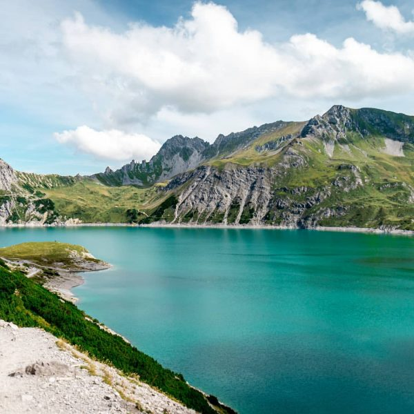 Beautiful turquoise water of the Lüner Lake in Austria. . . 📸: Nikon ...