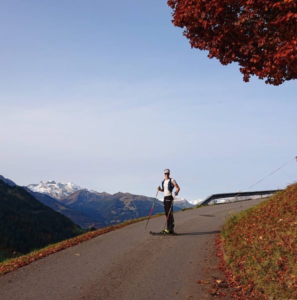 Best weather for a #Rollerski session! 😎🍁🍂 #MeinMontafon #Montafon #Montana #MontanaSkins #MontanaSkiService #iQsports ...