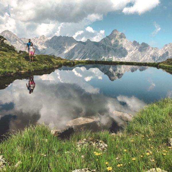 Rückblick zu den vielen #bergemitwow Momenten im vergangenen Sommer. 💚 __________ #throwback #golm ...