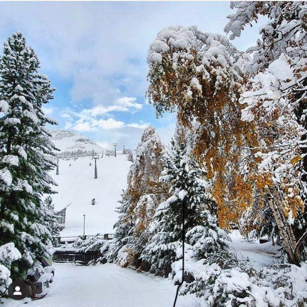 Overnight snowfalls in the Austrian Alps have left Lech looking at it's