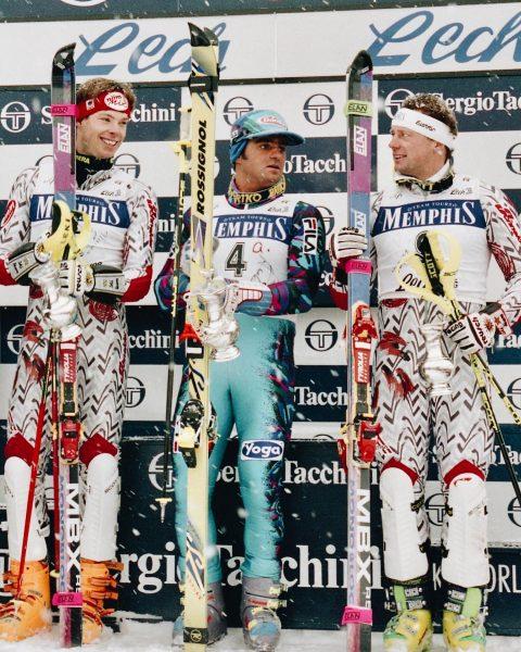 THROWBACK 🔝 1993 & 1994 fanden in Lech Zürs mehrere alpine Ski Weltcup ...