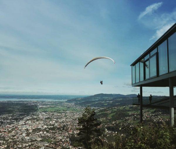 Beste Aussicht #view #ausblick #sundayfunday #visitvorarlberg #dornbirn #karren #landscape #paragliding #paragleiten #upintheair #flying ...
