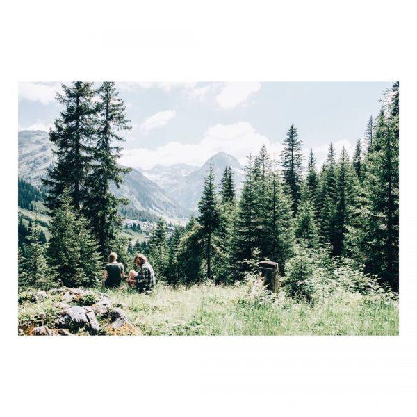 Berge erleben. Natur genießen. Die Gedanken sind frei. Der Blick auch. Aktivurlaub, so ...