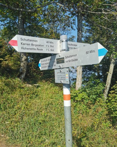 🏃♀️Karren-Staufenrunde-Staufenspitze 🤸♀️ Staufenspitze