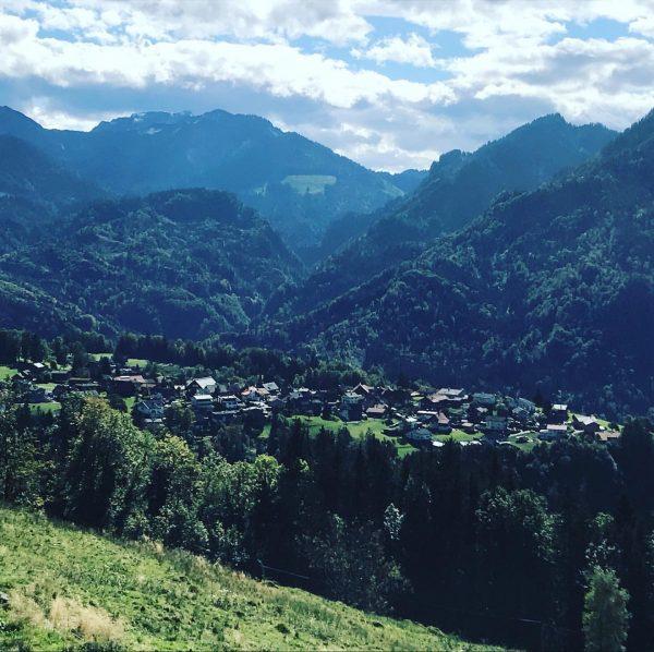 #kehlegg #nature #bergdorf #dorf Kehlegg, Vorarlberg, Austria
