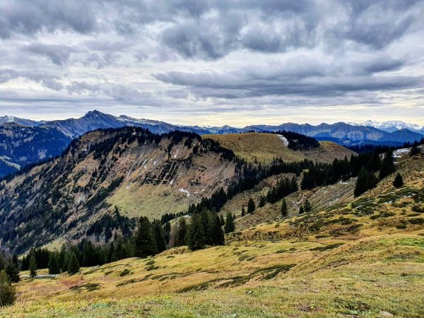 Yesterday 😃 #wandern #hiking #viewfromthetop #outdoors #landscapelover #cloudy #november #hohekugel #nature #getoutside #visitvorarlberg ...