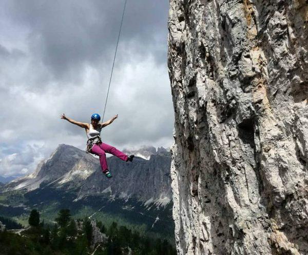 ...tolle Erinnerungen an unbeschwerte Zeiten hier an den cinque torri beim Klettern in ...