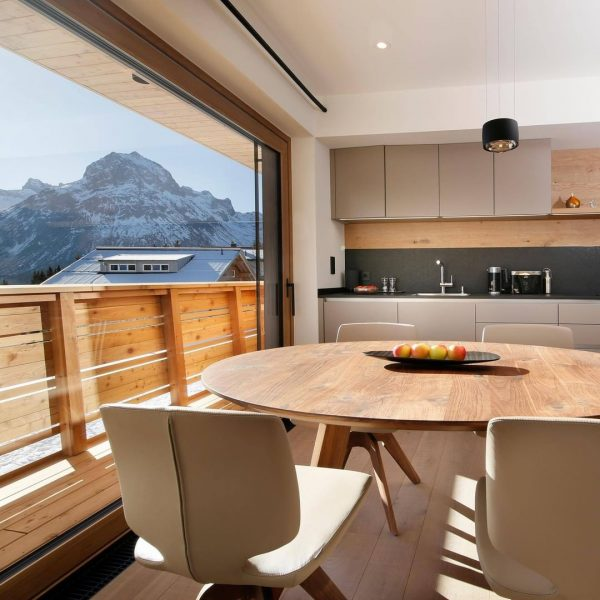 This is what we call a kitchen with a view 😍 All apartments are furnished using only...