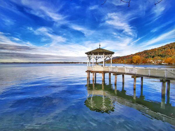 Herfst in Bregenz 🍂🍁🌞 . . . . . #bregenz #bodensee #lakekonstanz #lakeconstance #lago #herfst #herbst #meer...