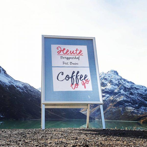 Heute gibt's Kaffee. Gerne könnt ihr heute nach der Wanderung bei uns im ...
